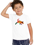 180 CAMISETA KID BORDADA TLACUACHE