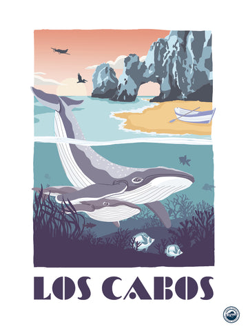 TRAVEL CARTEL POSTER LOS CABOS
