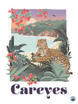 TRAVEL CARTEL POSTER CAREYES