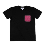 SOMEONE CAMISETA POCKET ROJA BLACK