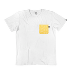SOMEONE CAMISETA POCKET SOLAR WHITE