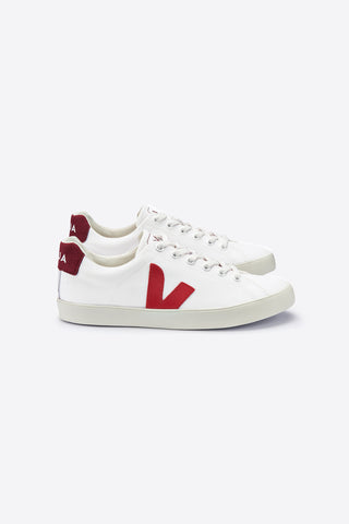 VEJA SE CANVAS WOMAN RED