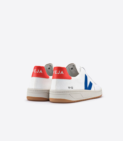VEJA V12 B MESH MAN ORANGE/BLUE
