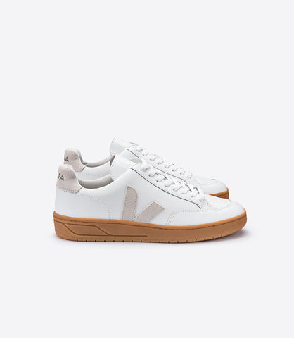 VEJA V12 NATURAL SOLE WOMAN WHITE