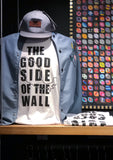 180 CAMISETA GOOD SIDE OF THE WALL MAPA WHITE