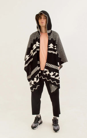 PAY'S PONCHO STRIKE COLORS S/M
