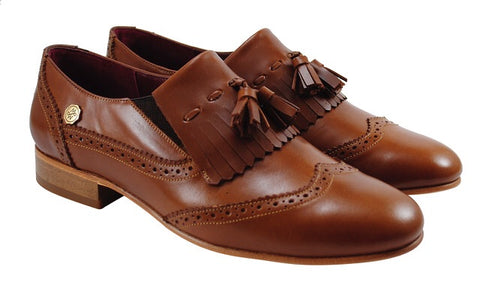 MONICA ZAPATO DUBLIN BROWN