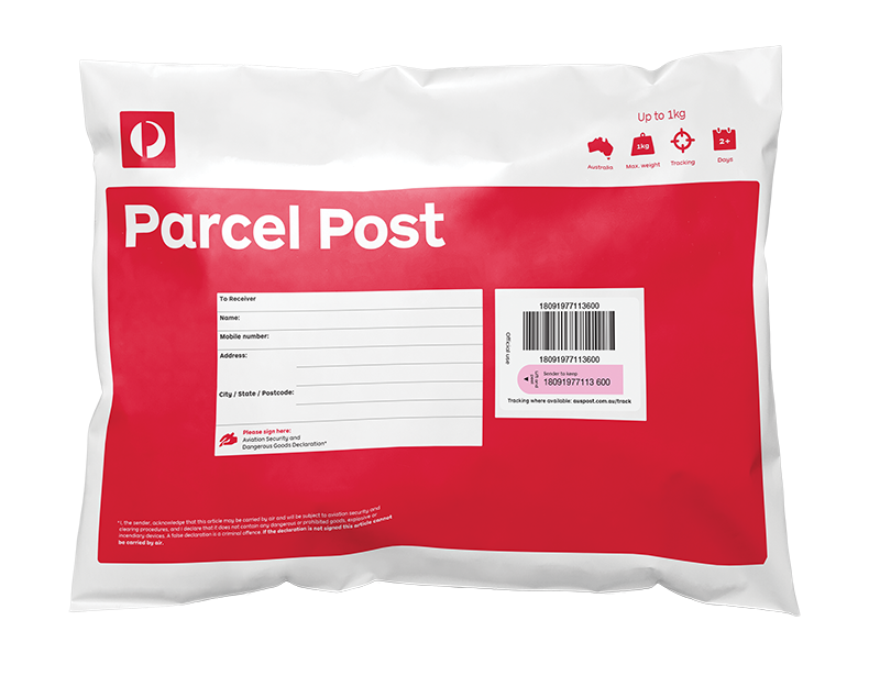 Australia Post Delivery Parcels - Lookbook Boutique