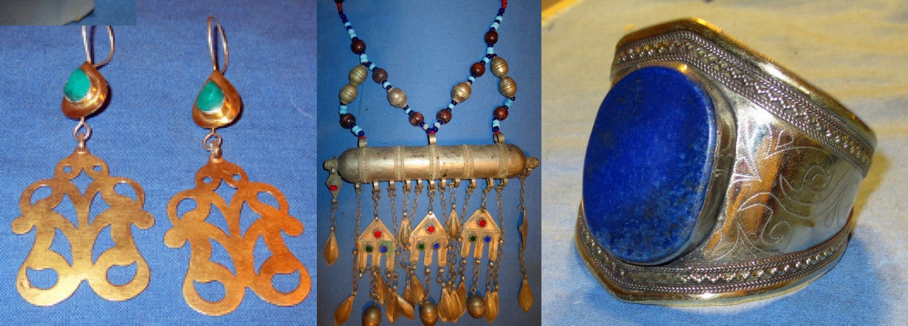Handcrafted Kuchi Tribal Jewelry