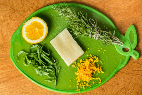 Basil Lime & Rosemary Goat Milk Soap