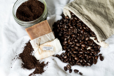 Fresh Brewed Coffee Goat Milk Soap
