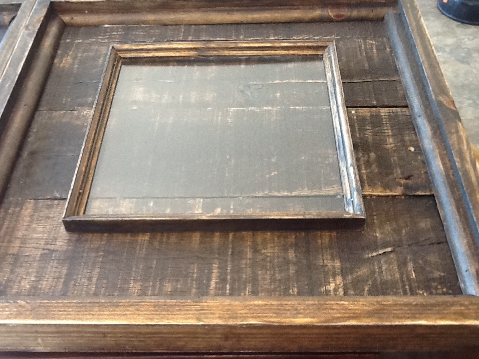 Handmade Rustic Farmhouse Photo Frames Made From Reclaimed Wood