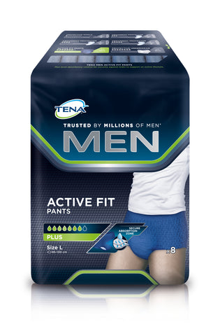 TENA Men Active Fit Pants Plus L