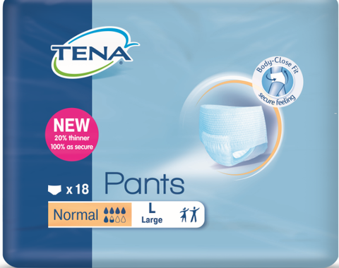 Women's TENA Pants Normal L