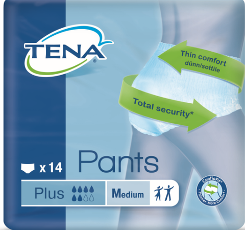 Women's TENA Pants Plus M