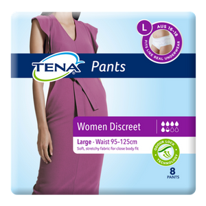 TENA Women's Discreet Pants Large