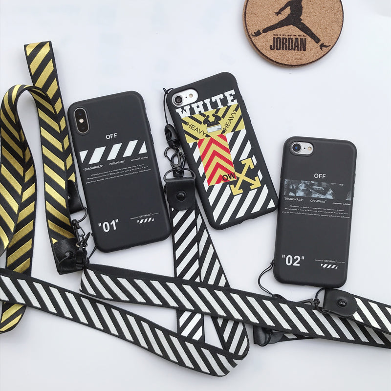 OFF-WHITE '2018' Phone Cases with Lanyard