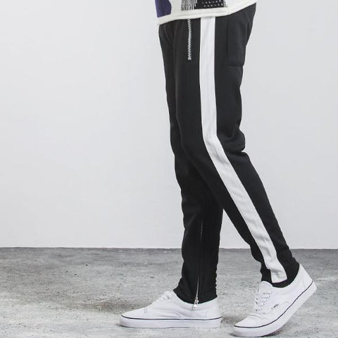 Striped Track Pants