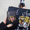 Image of Gucci-inspired Snake / Tiger Phone Cases