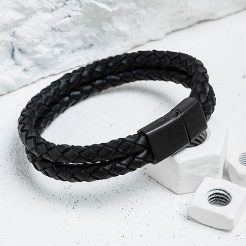'Pulse' Leather Bracelet