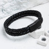 Image of 'Pulse' Leather Bracelet