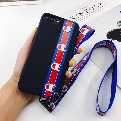 Champion Phone Cases with Lanyard