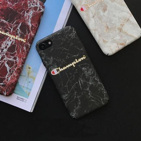 Champion 'Marble' Phone Cases