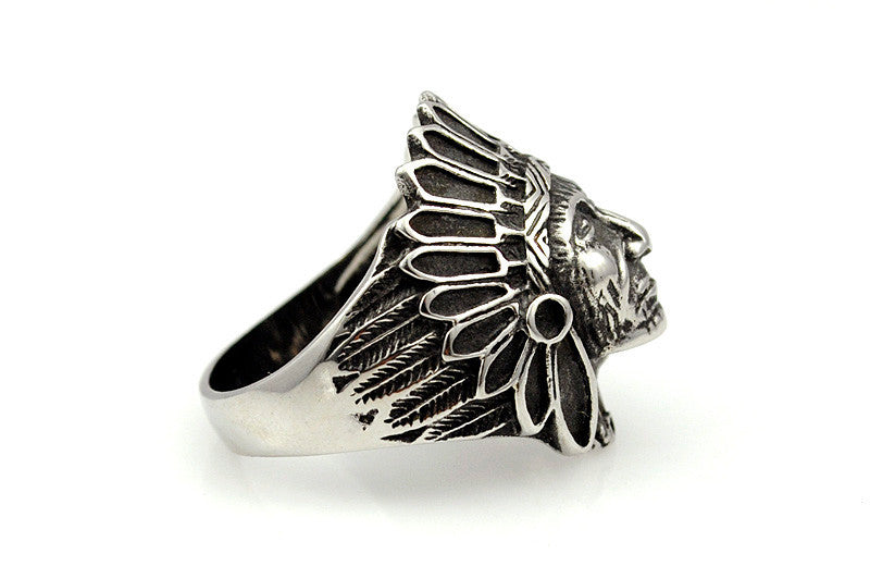 Indian Chief Ring