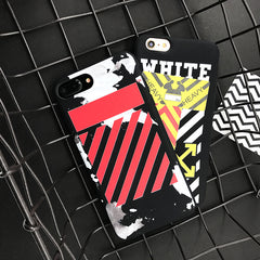 OFF-WHITE Sticker Phone Cases