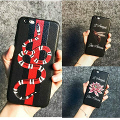 Gucci-inspired Phone Cases