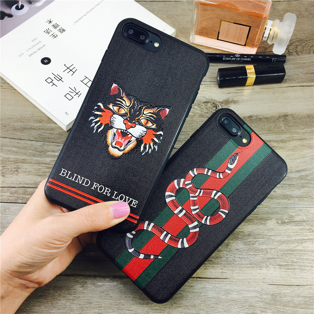 Gucci-inspired Snake / Cat Phone Cases