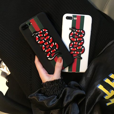 Gucci-inspired Snake Phone Cases