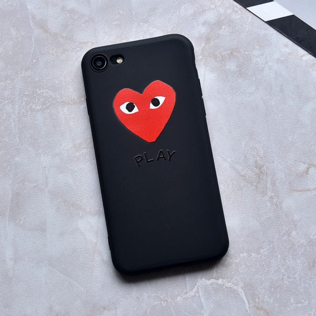 the best attitude 2cc78 7a8a7 Comme des Garçons PLAY Phone Cases