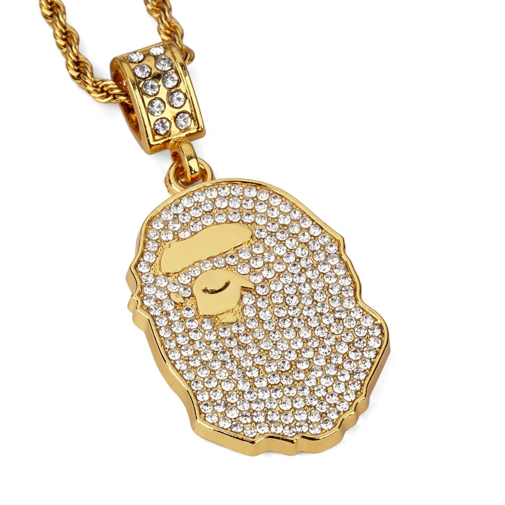 'BAPE' Necklace