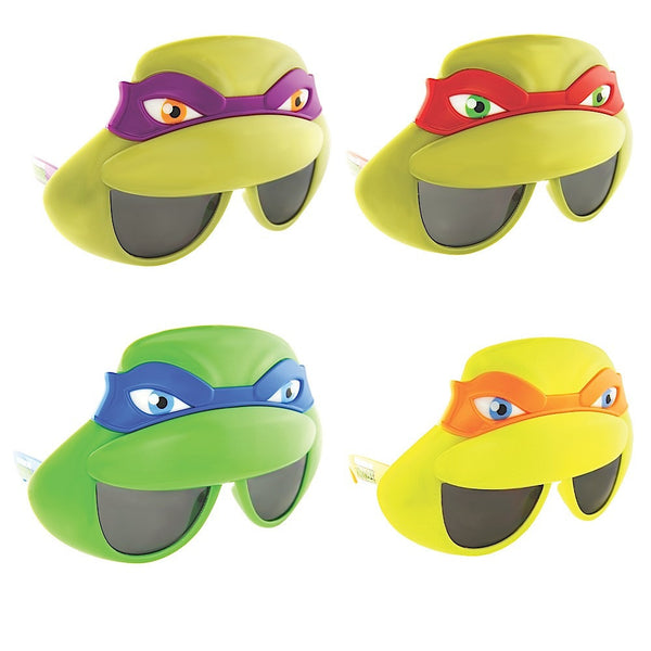 4 Ninja Turtle Face Combo Sun-Staches