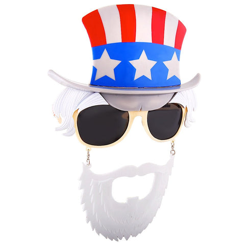 Uncle Sam Dark Lenses Sun-Staches