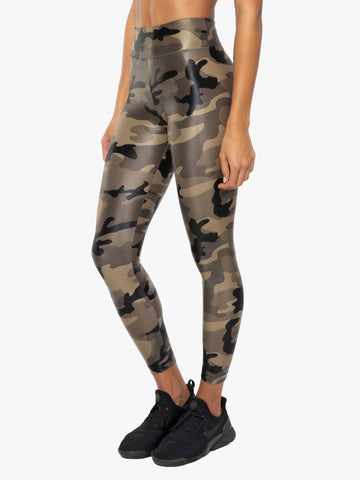 Lustrous High Rise Legging Camo