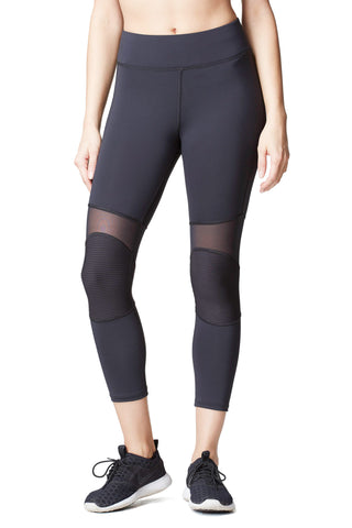 Ballistic Crop Legging - Black