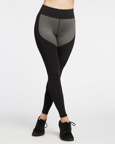 Cadence Legging - Heathered Grey