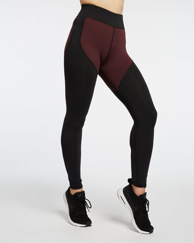 Cadence Legging - Mulberry