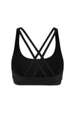 Prana Flow Sports Bra - Black