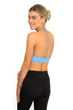 Triangle Sports Bra - Powder