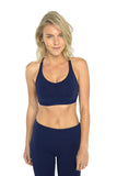 Bliss Sports Bra - Navy
