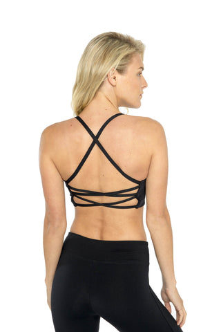 Qi Flow Bra - Black