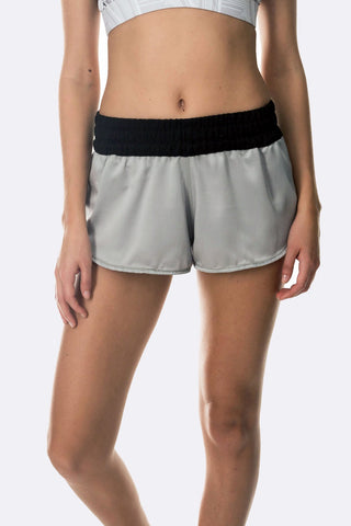 Electric Silky Shorts - Grey