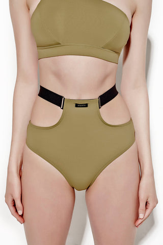 Magnolia Swim Bottom - Khaki