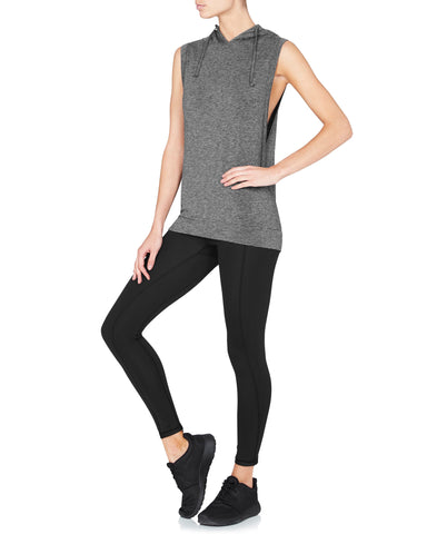 Nicolette Muscle Tank - Heather Grey