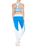 Alyssa High Neck Sports Bra - Crystalline