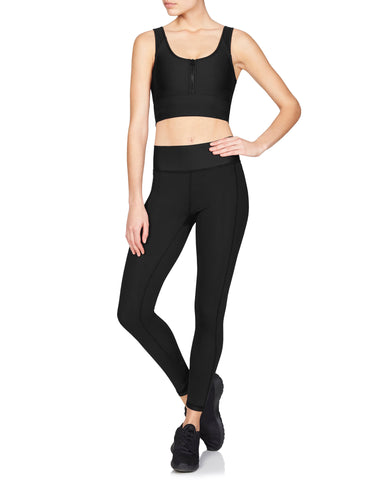 Zanna 7/8 Compression Tight - Supplex Black