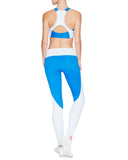 Taryn 7/8 Compression Tight - Pacific